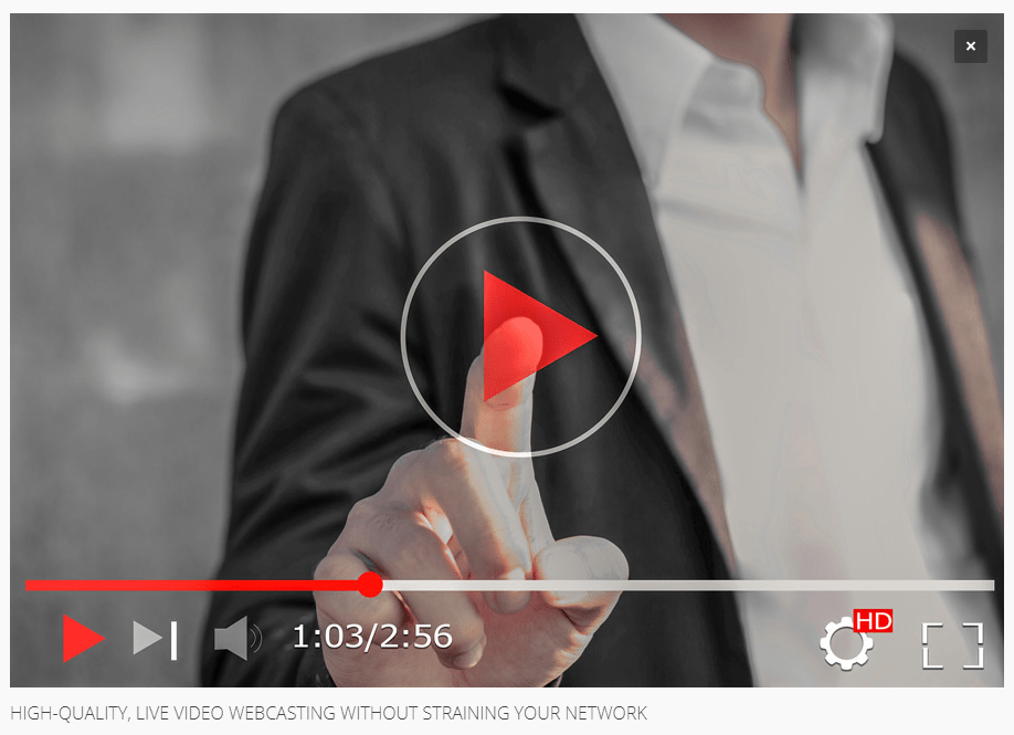 New White Paper: High-Quality, Live Video Webcasting Without Straining Your Network