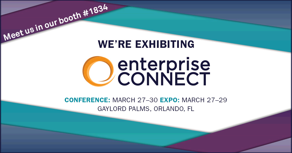 We'll Be Buzzing at Enterprise Connect