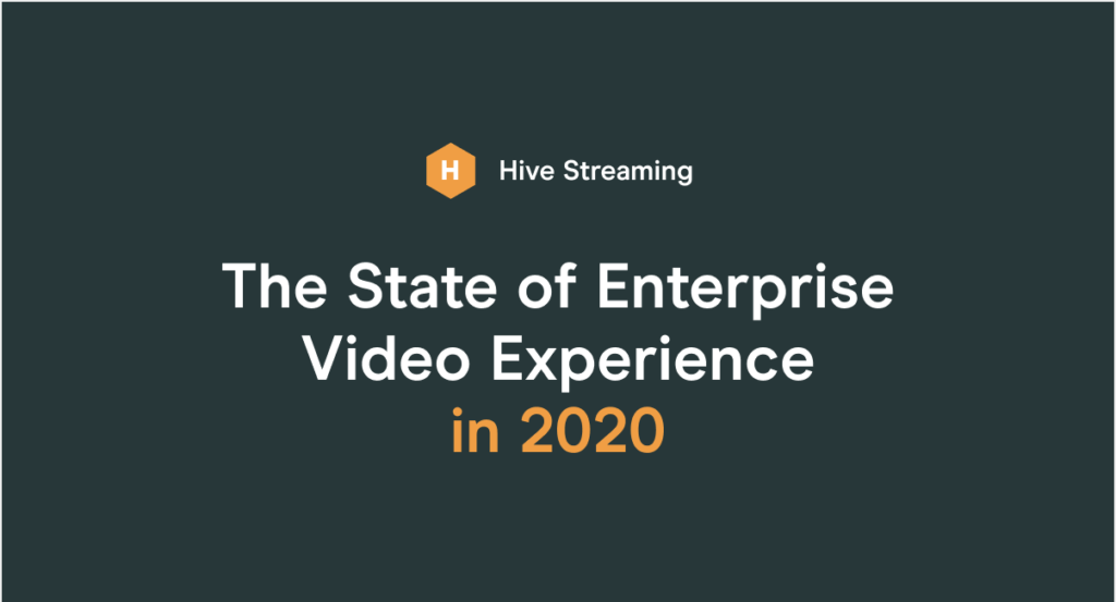 The full report of how Enterprises utilized video in 2020