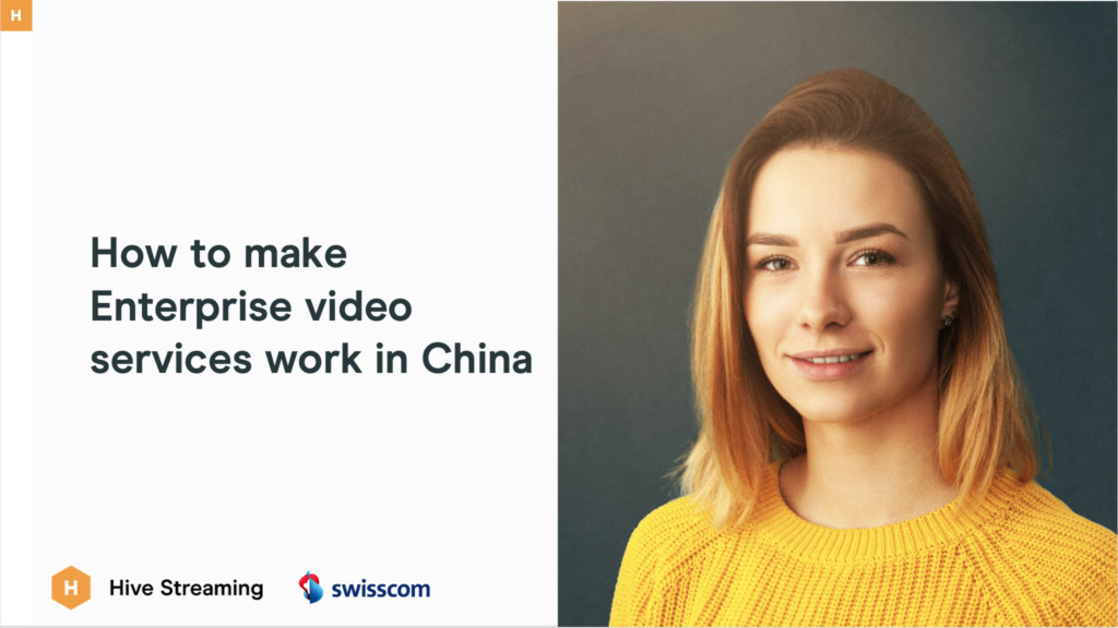 Enterprise Video in China